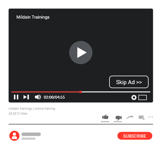 YouTube Advertising by Mildain Digital Agency